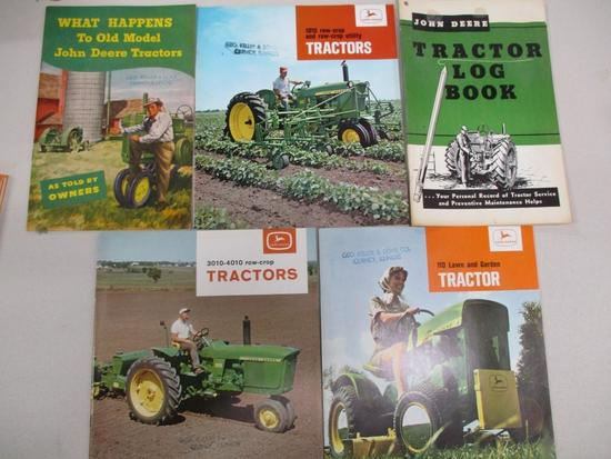 85459 Tractor Log Book, 1010 RC, 3010/4010 Row Crop, What Happens to Old Tractors, 110 L&G Geo