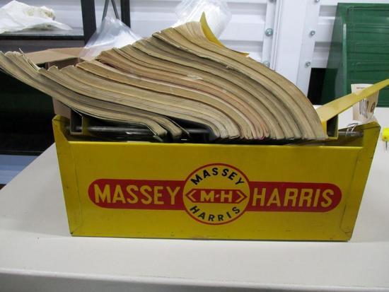 85580 MH Literature Rack w/ books