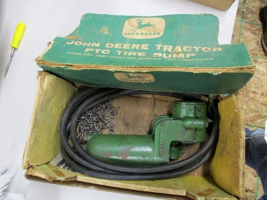 85604 JD PTO Air Pump, NOS, w/ box