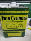 85567 JD Twin Cylinder Service Oil Can, 2 gallons