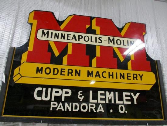 85317 - MM Modern Machinery 42 X 59 Cupp and Lemley, Pandora, OH single- sided, metal
