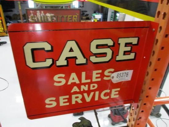 85376 - Case Sales/ Service (NOS) flange sign 22 X 18
