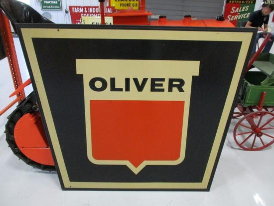 85355 - Oliver Sign, single- sided C.R. Walk Implement Indianola, IA 60 X 46