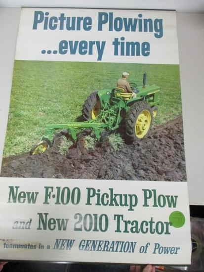"""85737 - JD 2010 plowing poster, 37 1/2"""" X 25"""""""