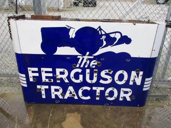"86007 - Ferguson double- sided, porcelain neon sign 6"" X 46"""
