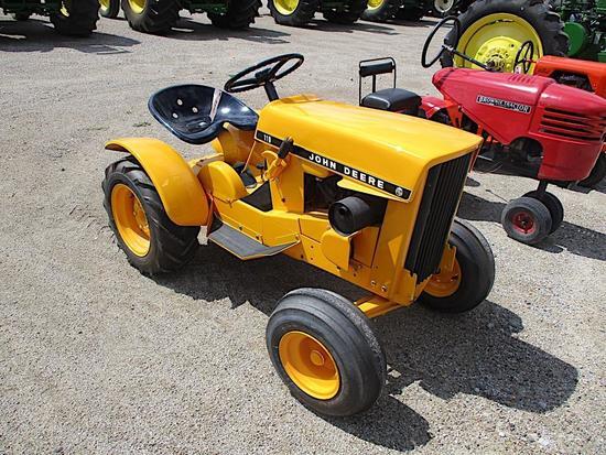 1130- JOHN DEERE 110 L&G TRACTOR