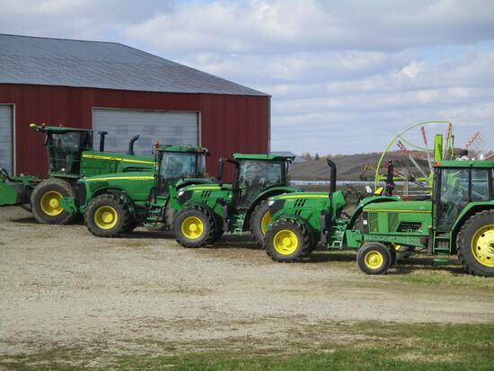 J & S Farm Tractor & Hay Equipment Auction
