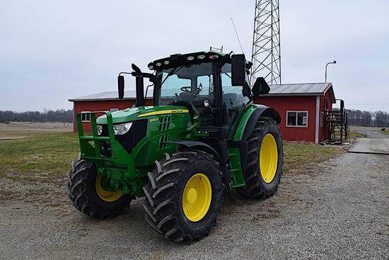 3016 - JOHN DEERE 6130 R TRACTOR