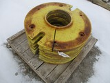 3122-(6) JD WHEEL WEIGHTS, SELLS BY THE PIECE
