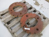 3123-(2) IH WHEEL WEIGHTS, SELLS BY THE PIECE