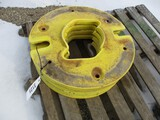 3125-(4) JD WHEEL WEIGHTS, SELLS BY THE PIECE