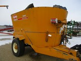 3258-KUHN KNIGHT 5042 VERTICAL MIXER, W/ SCALES