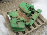 3227-(12) JD SUIT CASE WEIGHTS (1) BRACKET, SELLS BY THE PIECE