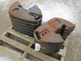 3228-(11) C-IH SUIT CASE WEIGHTS, SELLS BY THE PIECE