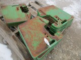 3302-(13) JD SUIT CASE WEIGHTS, SELLS BY THE PIECE