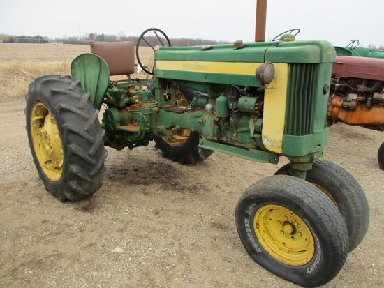 94397-JD 420T TRACTOR