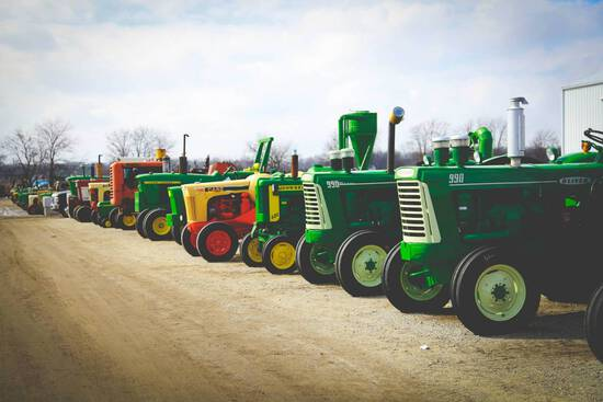 Annual Spring Collector Tractor Auction- APRIL 4th