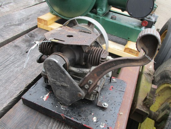 5481-MAYTAG 2 CYLINDER, KICK START ENGINE
