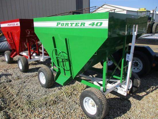98753 - PORTER GREEN MINI GRAVITY WAGON