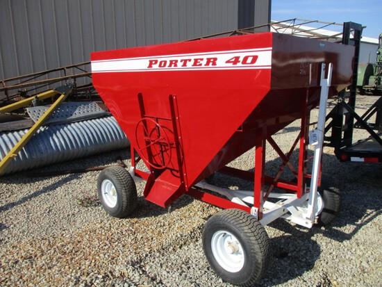 98754 - PORTER RED MINI GRAVITY WAGON