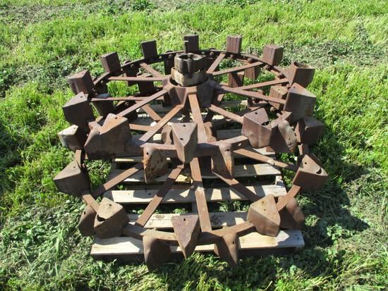 99233A - JOHN DEERE G REAR STEEL WHEELS