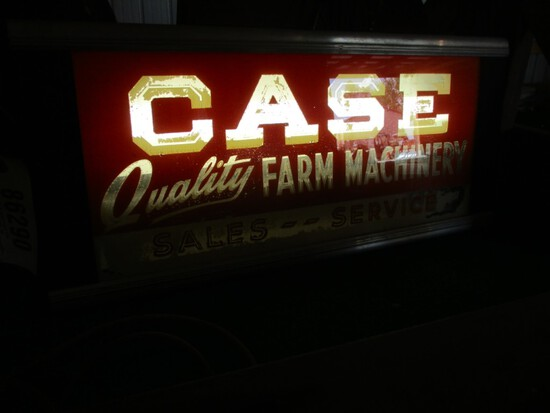 86290-CASE GLASS SIGN