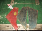 1112-OLIVER CHILLED PLOW SHARES (3), NOS