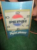 1115-PEPSI CLOCK