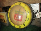 86271-OLIVER LIGHTED, PLASTIC CLOCK