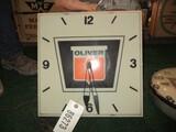 86273-OLIVER PLASTIC CLOCK