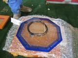 86278-GLASS, NEON, CLOCK REPAIR KIT, BLUE