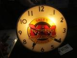 86286-MINNEAPOLIS MOLINE SALES & SERVICE CLOCK