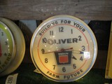 86293-OLIVER 'BUILDING FOR YOUR FUTURE' PLASTIC CLOCK