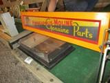 86296-MINNEAPOLIS MOLINE GENUINE PARTS SIGN