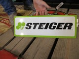 86299-STEIGER, METAL DOUBLE SIDED SIGN