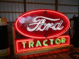 98900-FORD TRACTOR, NEON SIGN