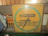 99094-DELAVAL PLASTIC CLOCK