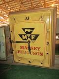 99096-MASSEY FERGUSON PLASTIC CLOCK