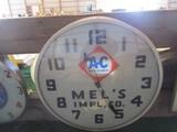 99098-ALLIS CHALMERS MEL'S IMP. CO. CLOCK