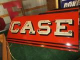 99102-CASE NEON, PORCELAIN SIGN