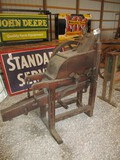 99111-A.B. FARQUHER WOODEN, TWO HOLE CORN SHELLER
