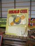 99120-DEKALB CHIX METAL SIGN