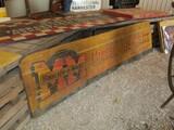99124-MINNEAPOLIS MOLINE, SINGLE SIDED, METAL SIGN
