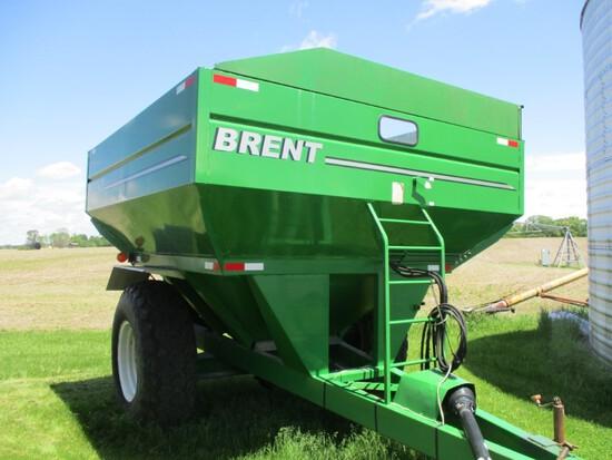 9469- BRENT GRAIN CART 410 F, 420 BUSHELS