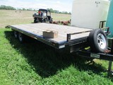 9470- MSI DECK OVER TRAILER 20' DECK w/ RAMPS (2011)