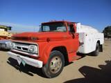 9190- CHEVY 60 FUEL TANKER TRUCK
