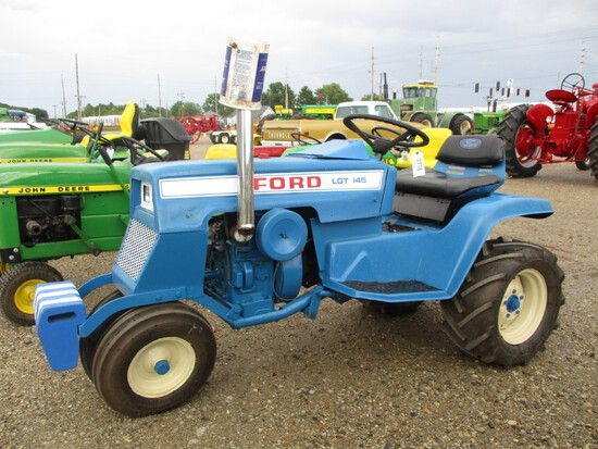 7778-FORD 145 L & G TRACTOR
