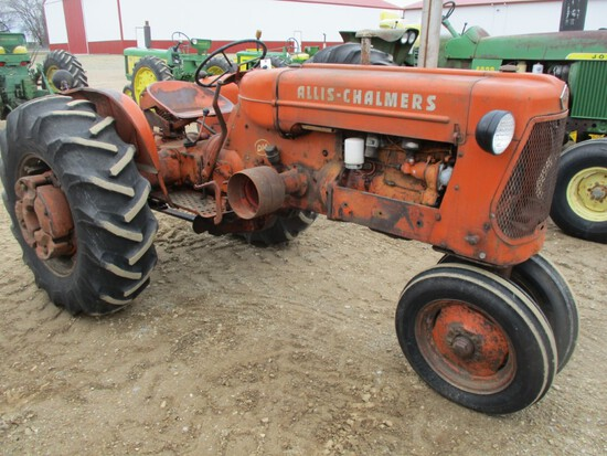 4033-AC D-14 TRACTOR