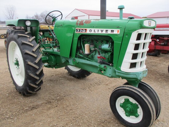 4449-OLIVER 770 TRACTOR