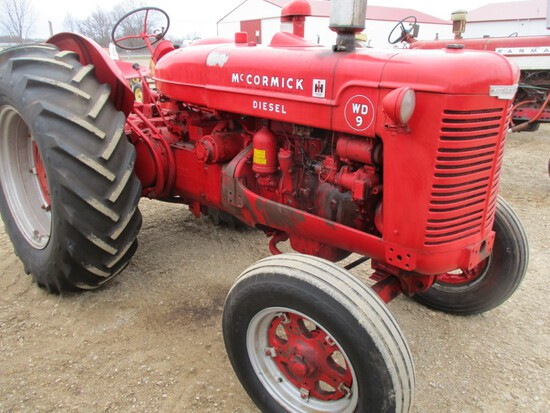 94528-IH WD-9 TRACTOR